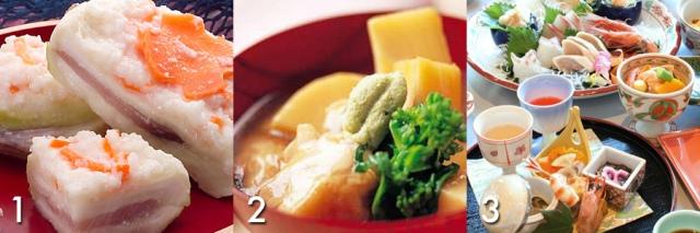 Ishikawa's famous foods. Image from Tofugu.