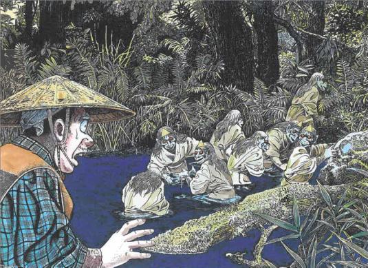 Image from Hyakumonogatari Kaidankai.