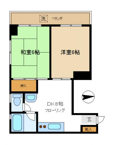 Living in japan part 4 how to read apartment listings what can i layout 2 malvernweather Choice Image