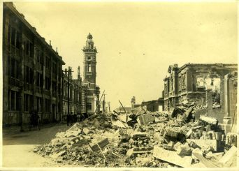 From the Great Kanto Earthquake Japan of 1923, courtesy of the UHM Library Asia Collection.